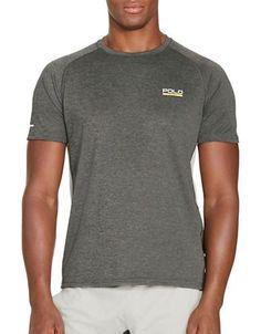 Polo Sport Micro-Dot Jersey T-Shirt Men's Grey X-Large