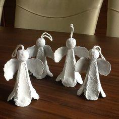 alles-vanellis      engeltjes van eidoos, kopje van aluminiumfolie met papier…