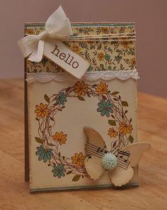 pretty card