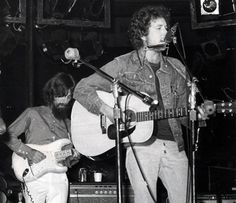 Bob Dylan and George