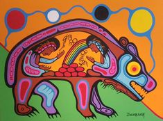 Boo has decided he is going to art school. Mark Anthony Jacobson — Inner Child Healing of the Bear clan Sweatlodge Native American Design, Native Design, Native American Artists, American Indian Art, American Modern, Inner Child Healing, Woodland Art, Haida Art, Indigenous Art