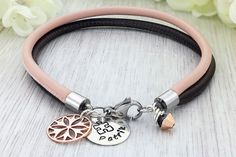 A personal favourite from my Etsy shop https://www.etsy.com/listing/534582388/rose-gold-charm-bracelet-rose-gold