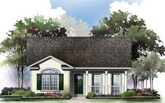 House Plan ID: chp-26435 - COOLhouseplans.com  2 bed, 2 bath