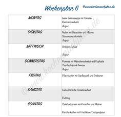kochennachplan.de : #Wochenplan .... ein neuer Wochenplan , dieses Mal mit Sonntagskuchen ;)