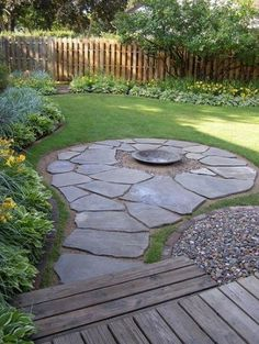 Front Yard Landscaping Ideas - Steal these cheap as well as simple landscape design concepts for a lovely backyard. Small Backyard Gardens, Backyard Patio Designs, Small Backyard Landscaping, Fire Pit Backyard, Landscaping Ideas, Backyard Ideas, Patio Ideas, Firepit Ideas, Garden Ideas