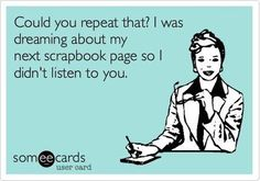Scrapbooking Funny: How We Deal with Civilians