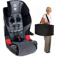 Britax 85 Booster With Travel Bag