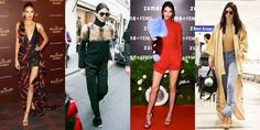 Check out Kendall Jenner's off-duty street style. We're madly in love with the red combo she wore during Paris fashion week! #fashiontrends #fashionblogger