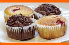 Muffiny môžu byť vynikajúce šťavnaté, mäkučké. vanilkové aj čokoládové. Tento recept Vám dáva do pozornosti: Šéfkuchári.sk