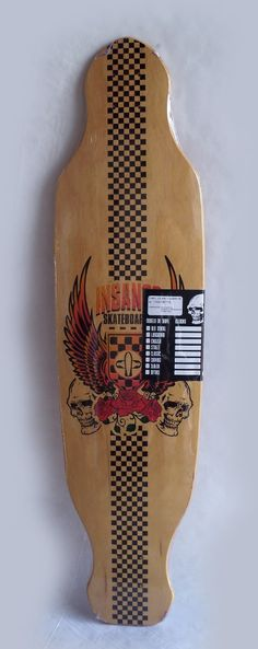 Shape Skate Longboard Insanos 39,15