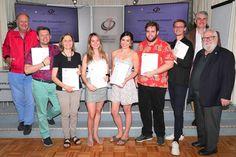 Weiße Fahne in der Journalismus & Medien Akademie