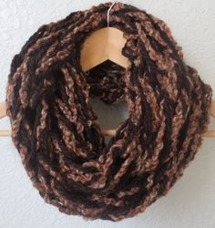 This infinity scarf is soft and comfy. It is lightweight but still keeps you very warm. Double looped so you get maximum coverage for your neck.