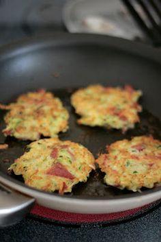 Indigo Scones: Bacon Zucchini Potato Pancakes
