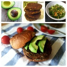 Southwestern Veggie Burgers | great way to use up the pulp from your juicer