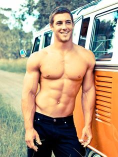Um...hello.  Kaine Lawton: Australian rugby player.