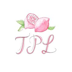 Sneak peak at the logo I created for the blog, The Pink Lyme (www.thepinklyme.com)! #illustration #illusterations #logodesign #limes #art #lettering