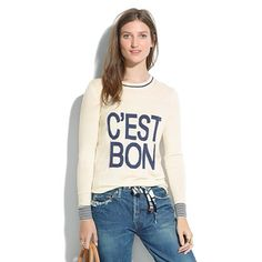 I want this shirt! It reminds me of learning French in #Montreal!