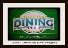 Have you heard about Universal Orlando's new Quick Service Dining Plan?  Linda N shares all the ins and outs, so you can decide if it is for you!  http://www.themagicforless.com/tmflblog/2014/01/universal-orlandos-new-quick-service-dining-plan/  #UniversalOrlandoResort  #UniversalOrlando #UniversalStudios