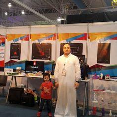 Something we liked from Instagram! #makerbot_ksa #3Dprinter #unleash_creativity #ksa #Dhahran #Dammam #Khobar #jeddah #riyadh #Creative_Artz #exhibition #exhibition #dhahran_expo  Pictures from our participate in the Forum and Exhibition of the Youth Entrepreneurs of AlSharqiyah Works 2015 at Dhahran Expo from November 30 to December 2. Picture with my lovely son Yahya.  #ميكربوت_السعودية #طابعة_ثلاثية_الابعاد #اطلق_العنان_للإبداع #السعودية #الشرقية #الخبر #الظهران #جده #الرياض #منشن #متجر…