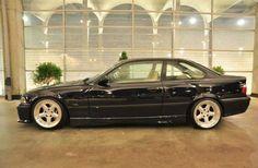 Classic combo: BMW e36 coupé on OZ AC Schnitzer type 1 wheels