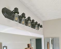 how to paint a bathroom light fixture after 2