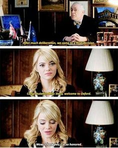 The Amazing Spider-Man 2 Deleted Scene! Gwen Stacy gets into Oxford.
