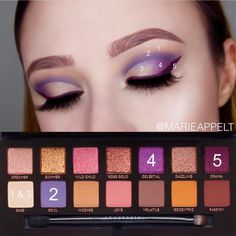 15 Easy Step By Step Smokey Eye Makeup Tutorials for Beginners - Best Make-Up Makeup Inspo, Makeup Inspiration, Makeup Tips, Makeup Tutorials, Makeup Art, Skin Makeup, Eyeshadow Makeup, Anastasia Makeup, Makeup Pallets