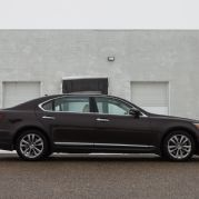2013 Lexus LS460L AWD Right Side View 4