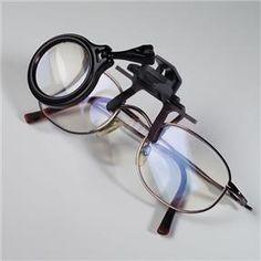 Lupa x 5 na okulary średnica 30 mm - Leuchtturm