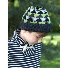 Canadiana - Navajo Kid's Hat (crochet)