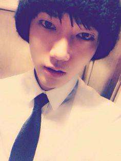 ❤예성❤ 10 Feb '14: Hi ~~ It's me ^^ cr: facebook/Yesung0084