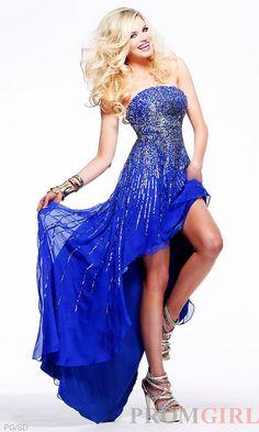 Love the blue/highlow stlye