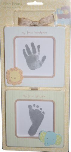 C.R. Gibson First Prints Handprint Kit  Noah's Ark: http://www.amazon.com/C-R-Gibson-First-Prints-Handprint/dp/B00516GBOW/?tag=headisstrandh-20