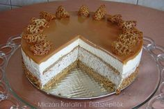 Hungarian Cake, Tiramisu, Mousse, Cheesecake, Food And Drink, Sweets, Meals, Cookies, Baking
