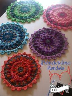 Borderline Mandala  - Free Crochet Pattern