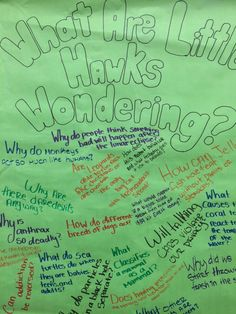 What are SEJH students wondering?School Libraries cultivate students sense of curiosity. Here are some questions 7th graders came up with after a research project co-taught by science teachers and Teacher Librarians at South East Junior High in Iowa City.