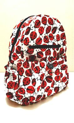 Custom Order for Nicola  S  Ladybird Backpack and by SewSofia