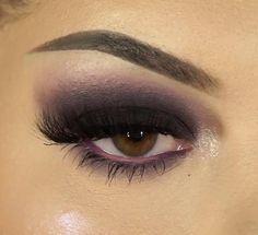 Pretty Eye Makeup, Dramatic Eye Makeup, Eye Makeup Steps, Makeup Eye Looks, Makeup For Brown Eyes, Blue Eyeshadow For Brown Eyes, Grey Eyeshadow, Smoky Eyeshadow, Smoke Eye Makeup