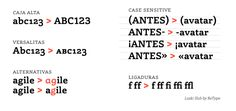 Opentype. Laski Slab by Retype Foundry