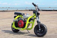 Custom Mini Bike, Custom Bikes, Scooters, Gas Powered Bicycle, Mini Motorbike, Homemade Motorcycle, Electric Bike Kits, Diy Go Kart, Motorised Bike