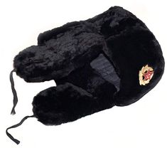 33d57b02c8a Shop a great selection of Black sheepskin ushanka