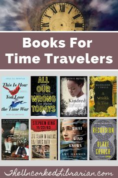 Are you looking for books about time travel?  Don't miss our time travel reading list filled with 22 of the best time travel books.  Discover science fiction, historical fiction, and new time travel books. Literary Travel, Travel Books, Great Books To Read, Read Books, Reading Lists, Book Lists, Best Historical Fiction Books, Holocaust Books, Indie Books