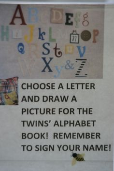 Personalized alphabet book for babies