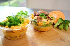 Sanduíche de Frango e Batata Doce no Potinho #28 Faça e Venda