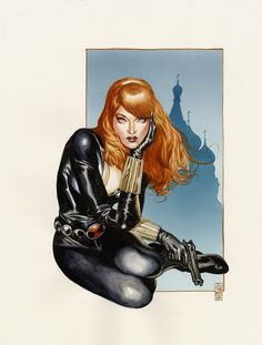 Black Widow - J.G. Jones