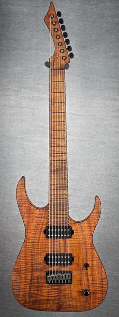 Blackmachine B7, full Koa lessonator.com #lessonator