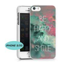 Be happy and smile Coque Galaxy S2 S3 S4 S5 S6 S6 Edge Coque