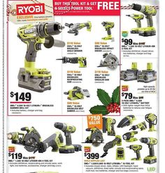 Home Depot Black Friday 2017 Ads and Deals As usual, Home Depot is one of the best Black Friday sales for huge discounts on major appliances, home improvement, tools, and gardening items. Best Black Friday Sales, Black Friday 2019, Home Depot Coupons, Impact Driver, Tool Kit, Home Improvement, Home Appliances, Gardening, Ads