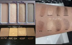 NailArt and Things: Naked Palette dupe from Inglot