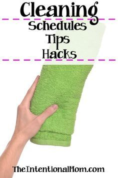 Looking for some cleaning motivation? Here are all the cleaning schedules, tips & hacks you need to know what to clean when & how to clean it FREE PRINTABLE via @www.pinterest.com/JenRoskamp